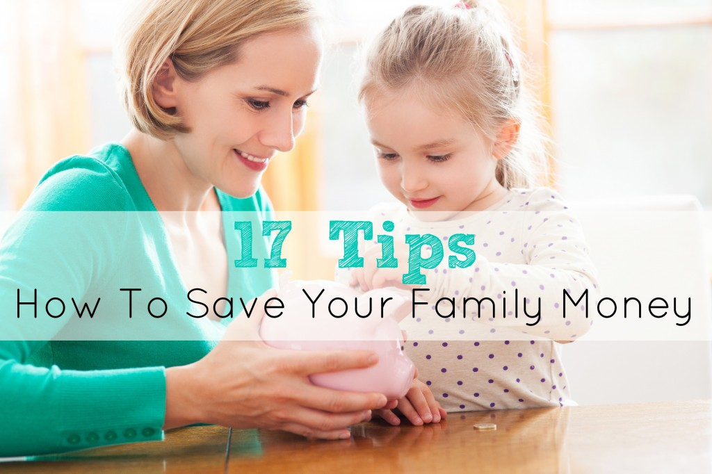 How To Save Your Family Money