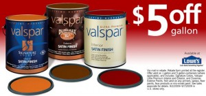 Special Offers on Paint, Primer, and Other Valspar Products | Valspar