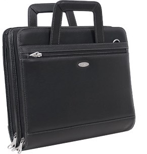 Samsonite Double Gusset 3-Ring Binder Organizer with Handle