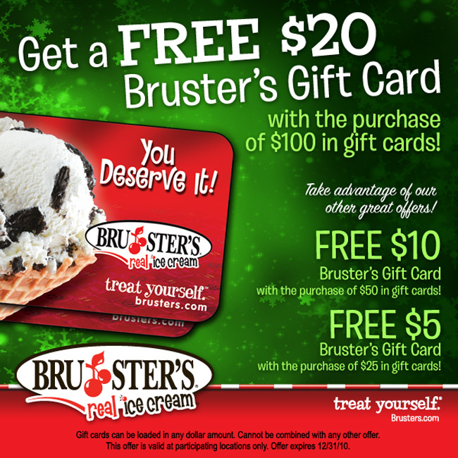 Restaurant Gift Card Holiday Deals 2010 - Saving the Family Money