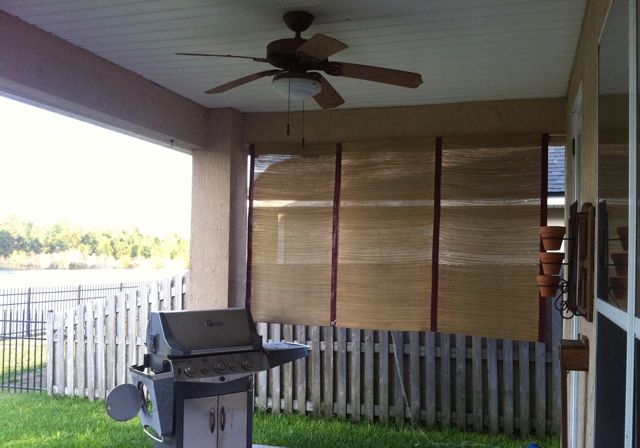 DIY Outdoor Patio Shade Saving the Family Money