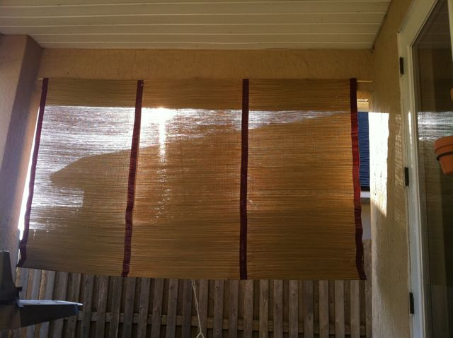 Diy outdoor patio shade saving the family money there are a few things id do differently next time because you know you always learn by doing solutioingenieria Gallery