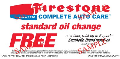 24 Hour Oil Change >> 24 Hour Flash Giveaway 5 Coupons For Free Firestone Oil