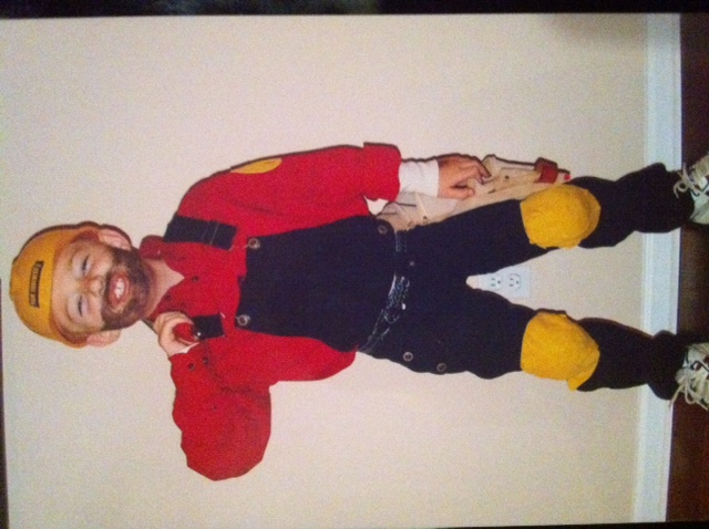 That ... & Homemade Halloween Costumes u0026 Thrift Store Finds Link Up - Saving ...