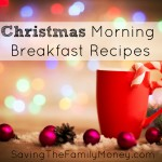 Christmas Morning Breakfast Recipes & Link Up