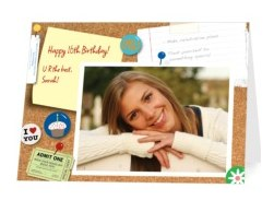 free personalized birthday card today only  july  only  saving, Birthday card