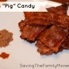 Bacon Pig Candy