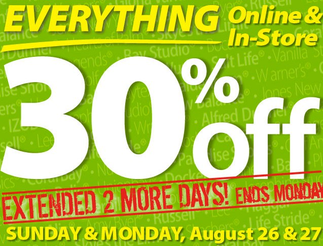 Bealls Florida 30 Off Entire Purchase Online Or In Stores Last Day Saving The Family Money