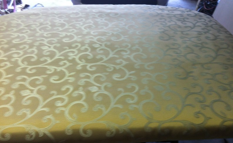 How To Make A Fabric Covered Headboard ~ Pictures Included - Saving ...