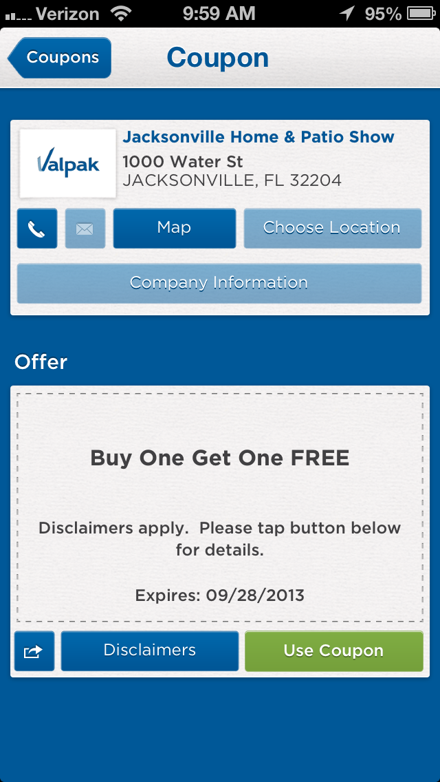 Jacksonville Home And Patio Show Coupon