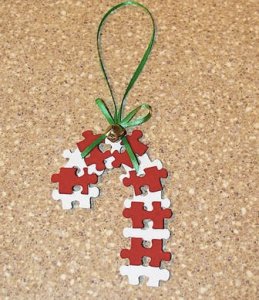 christmas art crafts for kids puzzle candy canes
