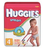 HOT $3 Huggies Coupon ($3.67 at CVS this Week!)