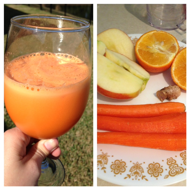 Juice ~ Carrot, oranges