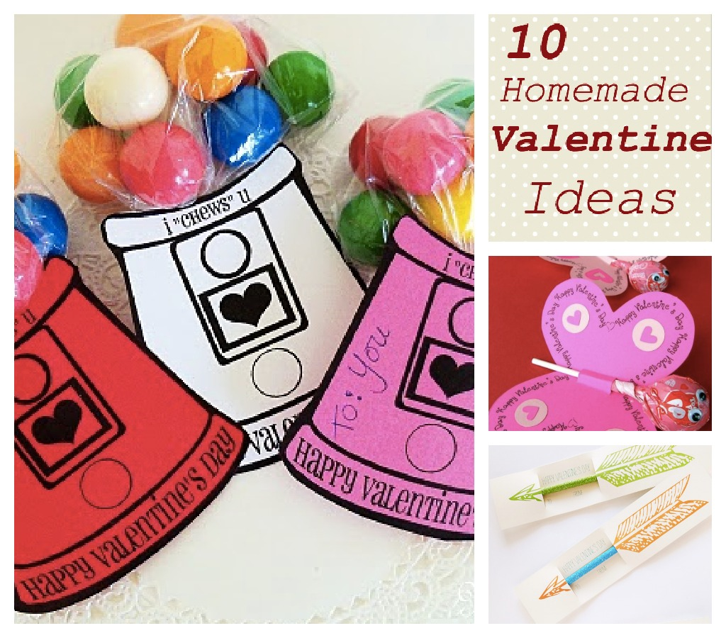 10 Fun and Easy Homemade Valentines For Kids