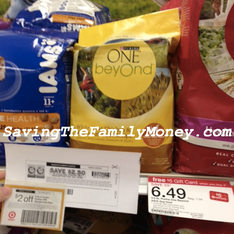 Target Dog Food Deal