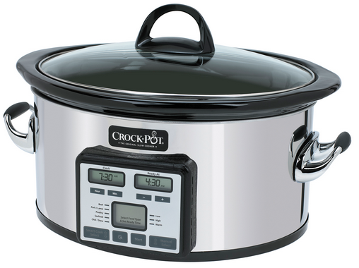 NEW! Crock-Pot Slow Cooker with Smart Cook Technology - Crock-Pot The Original Slow Cooker
