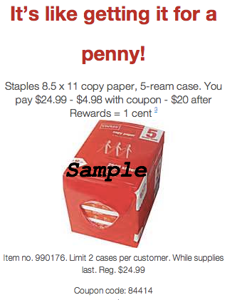 Staples Coupons_ Coupon Codes & Printable Coupons | Staples.com®