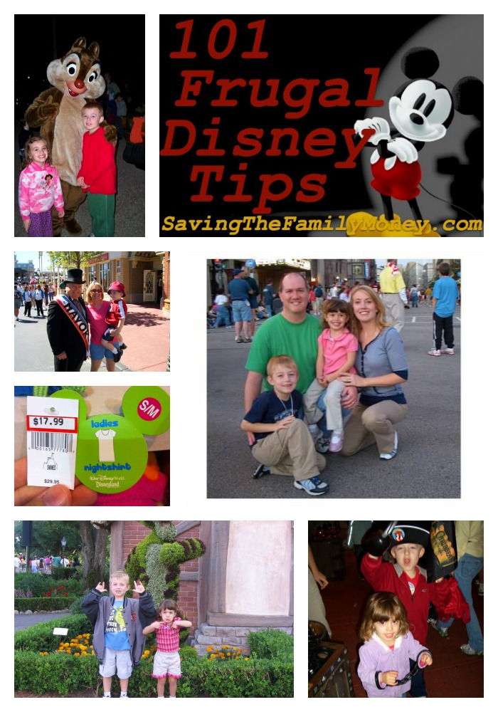 101 Frugal Disney Tips