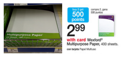 Walgreens Copy Paper As Low As 1 66 This Week Saving The Family Money