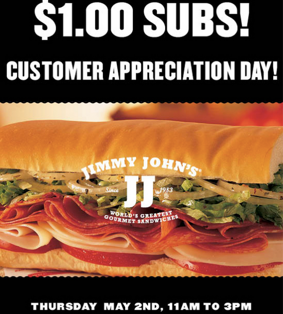 picture regarding Jimmy Johns Menu Printable named Jimmy Johns Coupon codes PK Tender