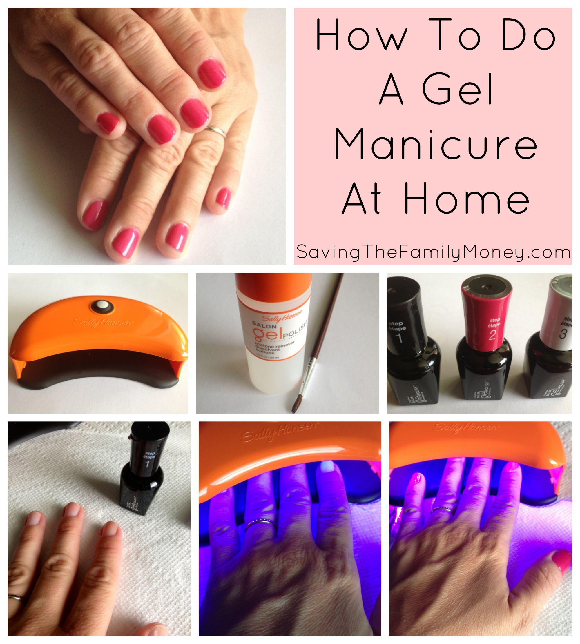 Saving Money On Beauty | At Home Gel Manicures – Saving The Family Money