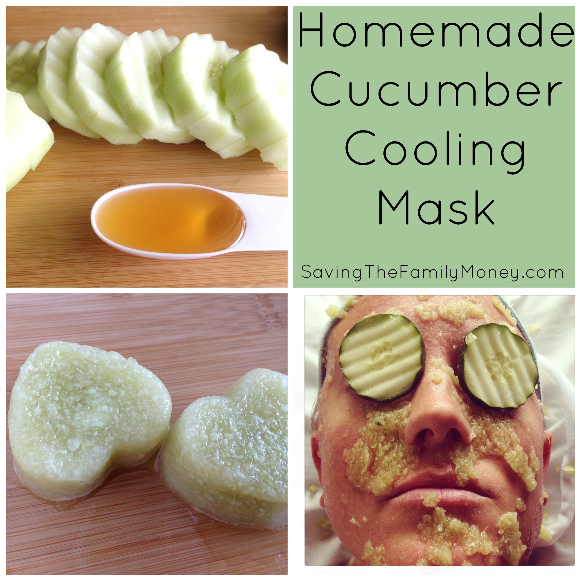 Saving Money On Beauty | Homemade Cucumber Cooling Mask