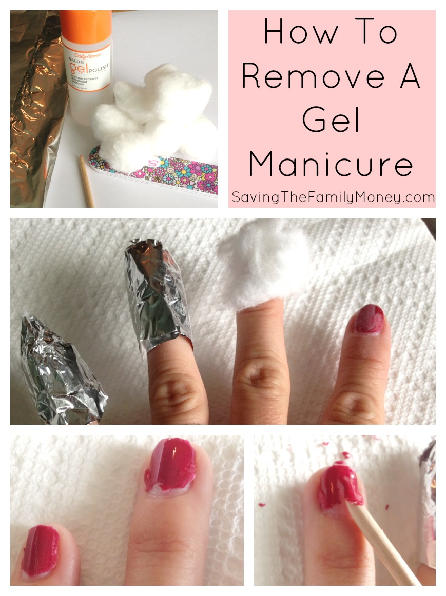 Saving On Beauty  How to remove a Gel manicure