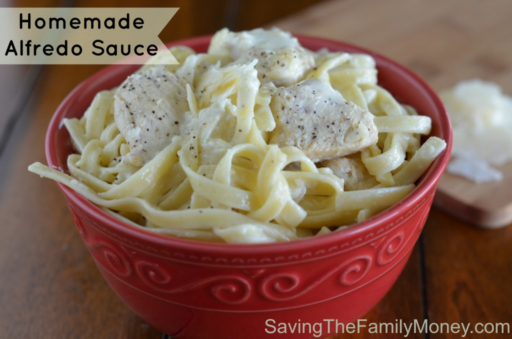 Homemade Alfredo Sauce