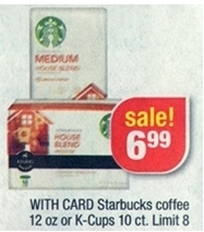 graphic relating to Starbucks K Cups Printable Coupons named Fresh Starbucks K-cup Printable Coupon and CVS Offer. Preserving