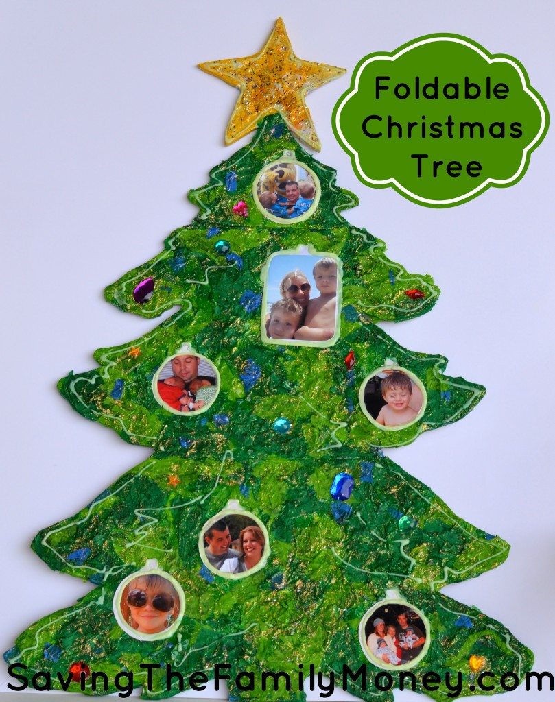 Christmas Crafts For Family Part - 47: Foldable Christmas Tree
