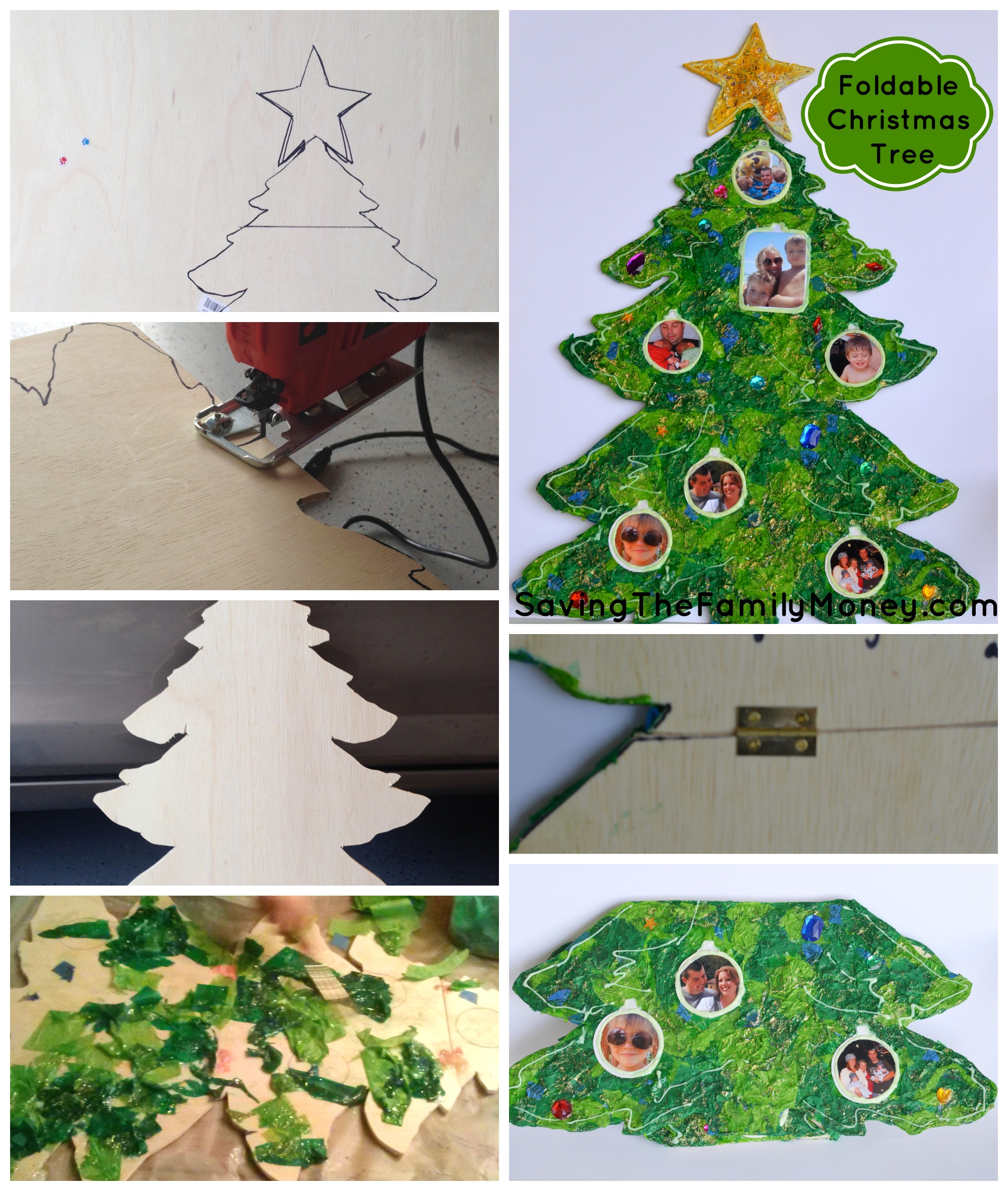 Foldable Christmas Tree Military
