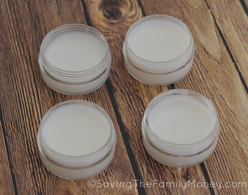 Mens homemade lip balm