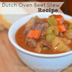 Easy Dutch Oven Beef Stew Recipe
