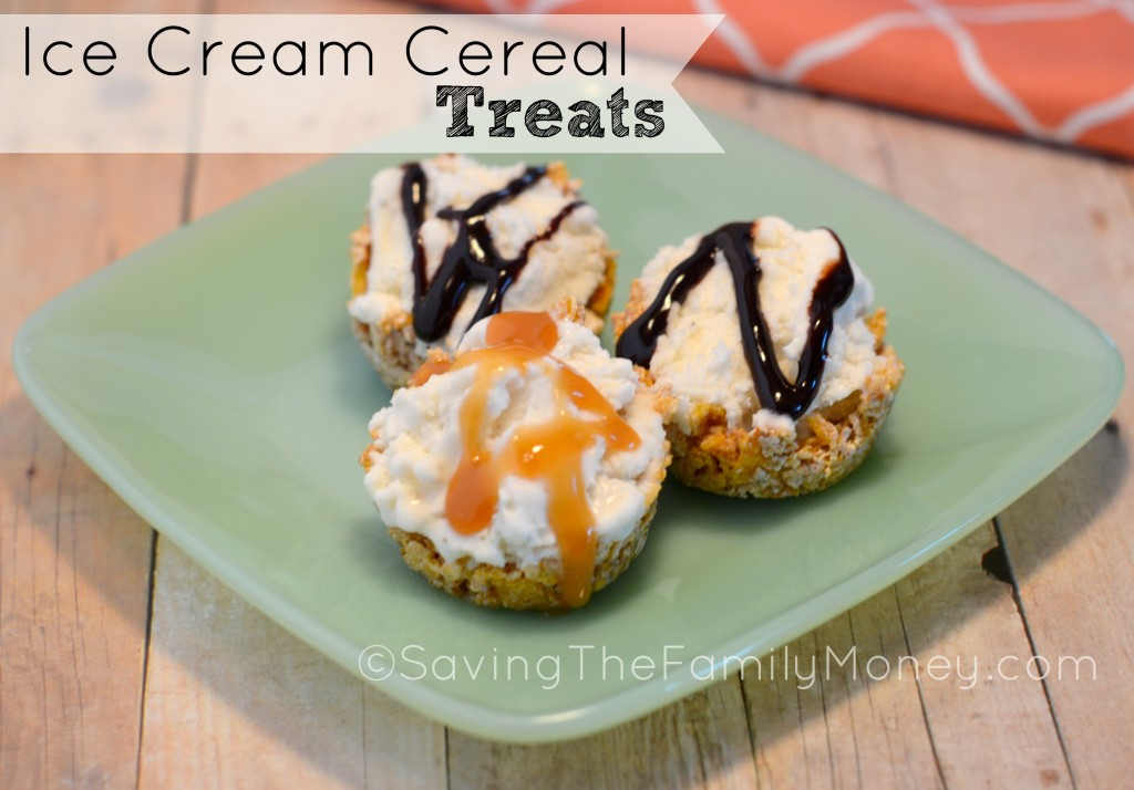 Ice Cream Cereal Treats
