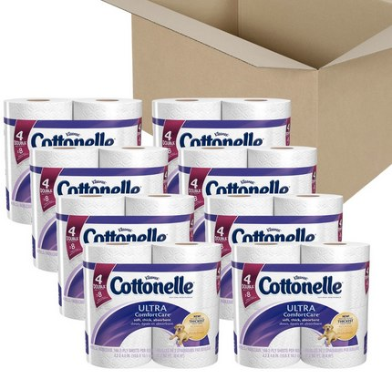 Amazon.com_ Cottonelle Ultra Comfort Care Toilet Paper, Double Roll Economy Plus Pack, 32 Count_ Health & Personal Care