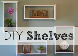 DIY Shelves sidebar