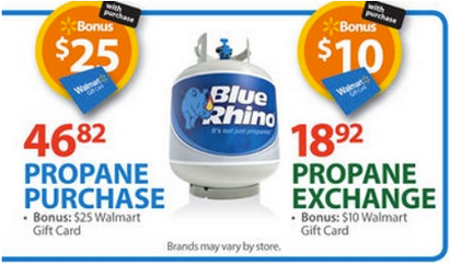 Propane Tank Exchange As Low As $2 92 At Walmart with Coupon and