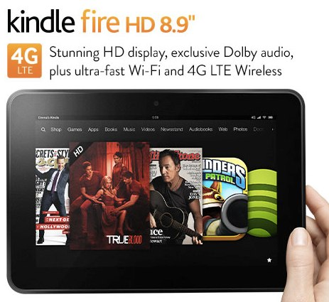Certified Refurbished Kindle Fire HD 8.9_ 4G Tablet