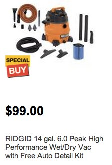 Search Results for wet dry vacuum at The Home Depot