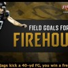 When the Jags kick a 40-yd FG, you win a free sub!
