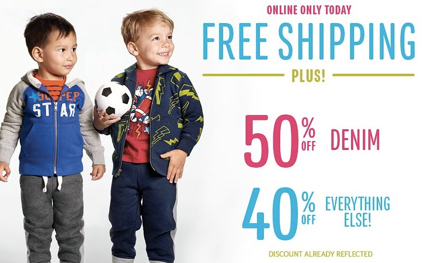 e275aa9c95d6d The Children s Place 40% Off Today with Free Shipping – Saving The ...
