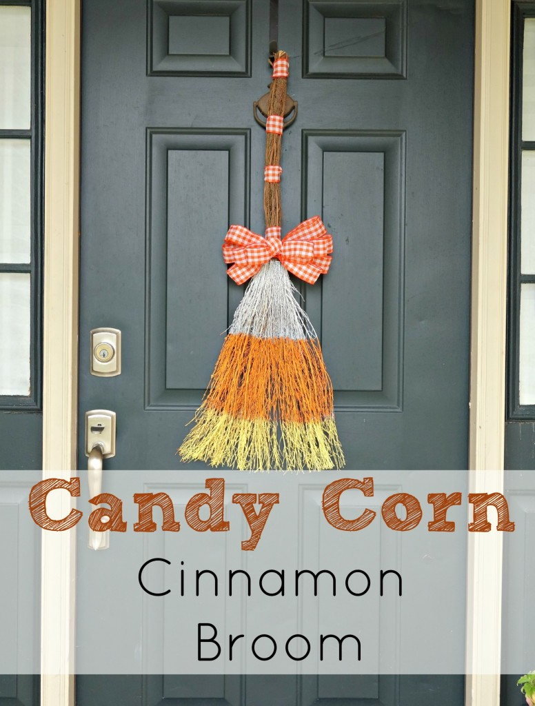 Candy Corn Cinnamon Broom