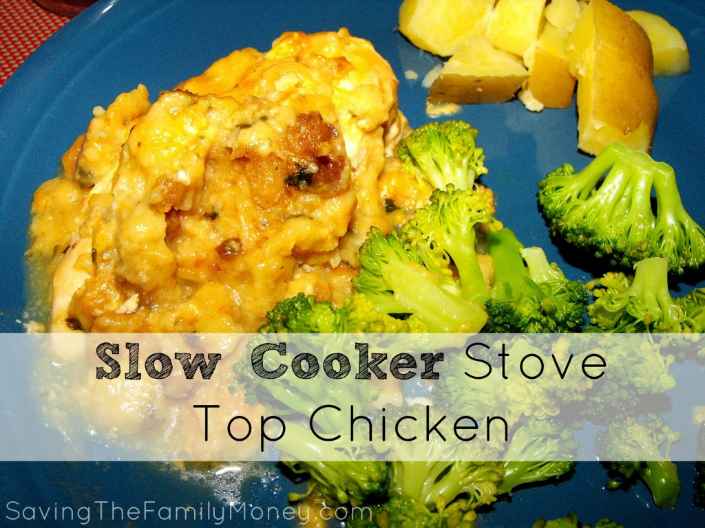 Slow Cooker Stove Top Chicken