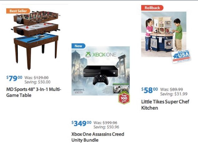 Walmart Black Friday Ad  and Today Only Deals - Saving the