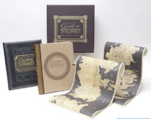 Inside HBO_s Game of Thrones_ The Collector_s Edition_ Bryan Cogman, Will Simpson, David Benioff, D.B. Weiss, George R. R. Martin_ 9781612185736_ Amazon.com_ Books