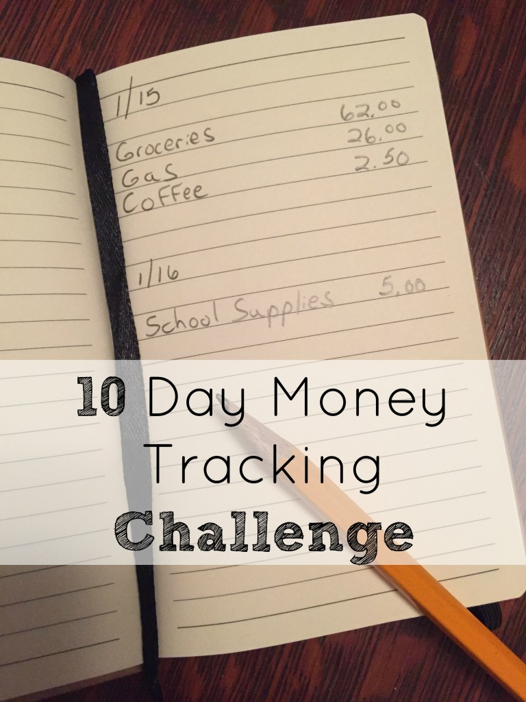 10 Day Money Tracking Challenge