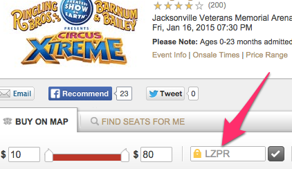 Tickets | Ringling Bros. and Barnum & Bailey_ Circus Xtreme - Jacksonville FL at Ticketmaster