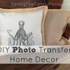 DIY Photo Transfer Home Decor