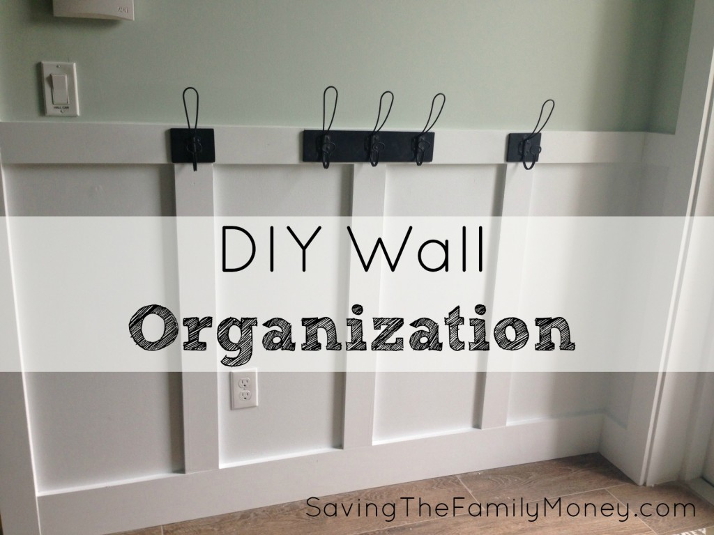 DIY Wall Organization
