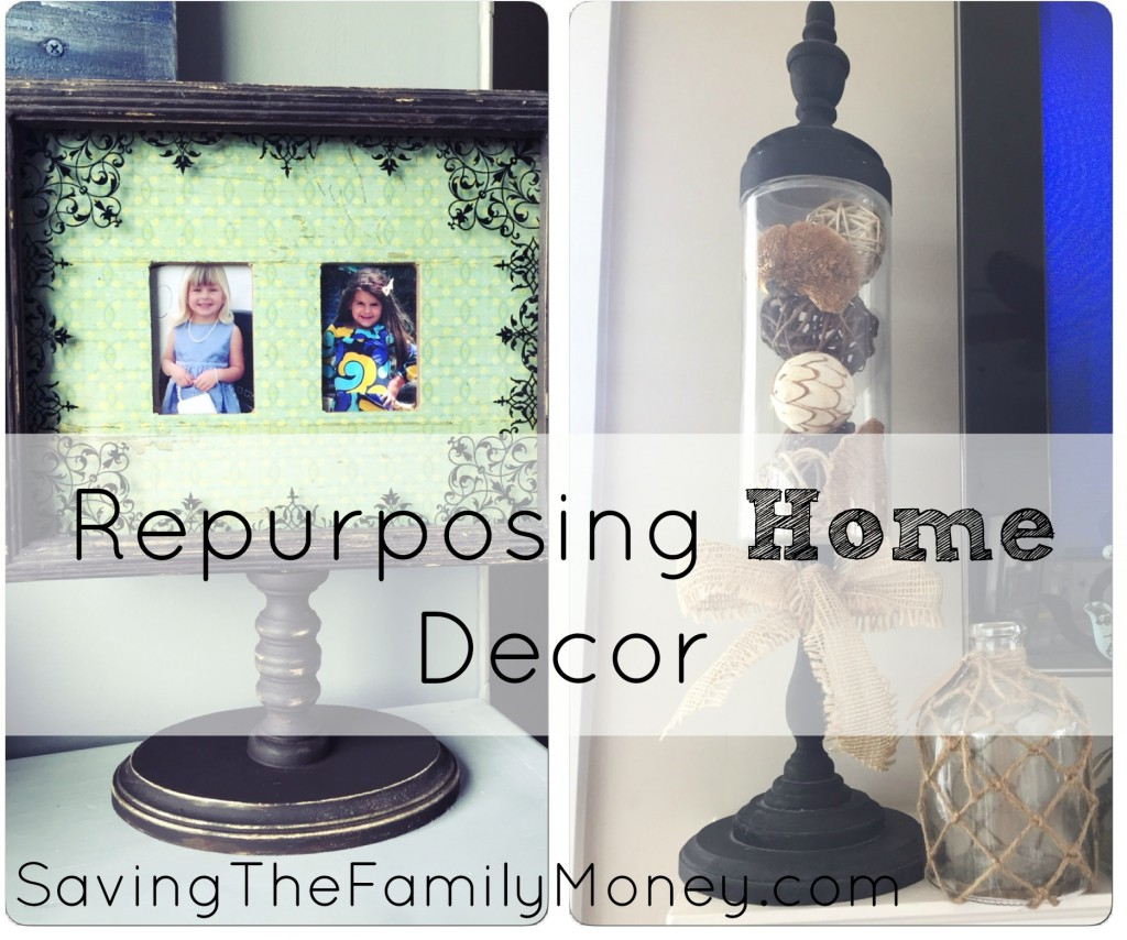 Repurposing Home Decor Into Focal Points